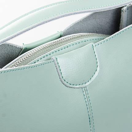Сумка Женская Классическая кожа ALEX RAI 2-02 1383 green, фото 2