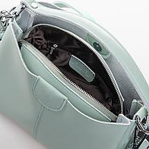 Сумка Женская Классическая кожа ALEX RAI 2-02 1383 green, фото 3