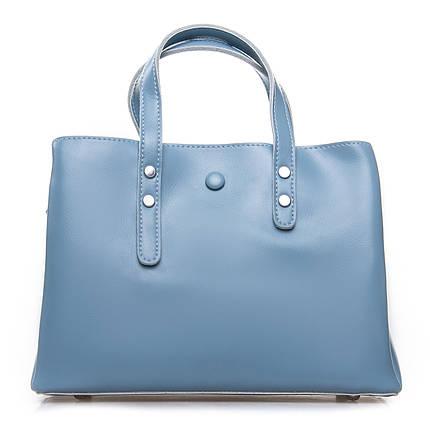 Сумка Женская Классическая кожа ALEX RAI 2-02 349 light-blue, фото 2