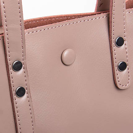 Сумка Женская Классическая кожа ALEX RAI 2-02 349 pink, фото 2