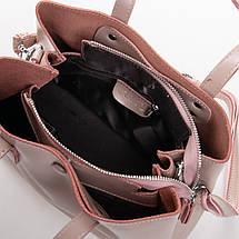 Сумка Женская Классическая кожа ALEX RAI 2-02 349 pink, фото 3