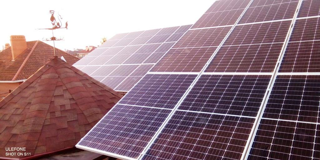 """Одеса сонячна електростанція під """"зелений"""" тариф потужністю 18 кВт Risen + Huawei Одеська область"""
