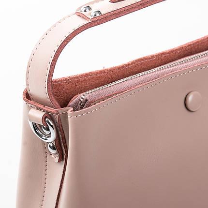 Сумка Женская Классическая кожа ALEX RAI 2-02 8702 pink, фото 2