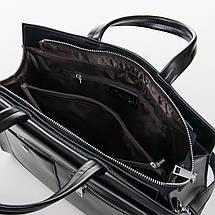 Сумка Женская Классическая кожа ALEX RAI 2-02 8764 black, фото 3