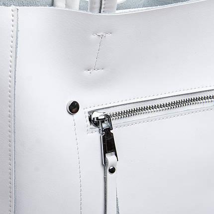 Сумка Женская Классическая кожа ALEX RAI 2-02 8773 white, фото 2