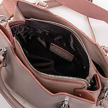 Сумка Женская Классическая кожа ALEX RAI 2-02 8777 pink, фото 3