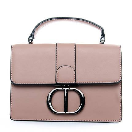 Сумка Женская Клатч иск-кожа 1-01 1606 pink, фото 2