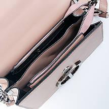 Сумка Женская Клатч иск-кожа 1-01 1606 pink, фото 3