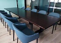 Переговорный стол из массива ясеня