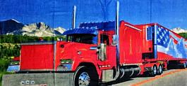Полотенца пляжное грузовик
