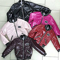 Детские  демисезонные куртки для девочек оптом H&H, фото 1
