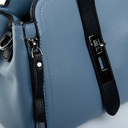 Сумка Женская Клатч иск-кожа 1-01 969 blue, фото 2