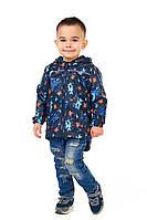 Детская ветровка для мальчика на трикотаже 92, 98, 104, 110, 116, 122