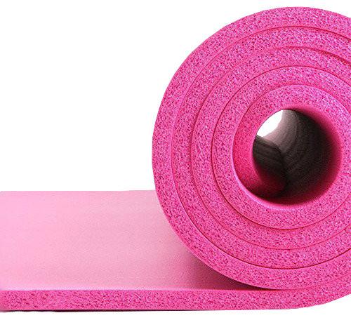 Коврик для тренировок LiveUP NBR MAT розовый