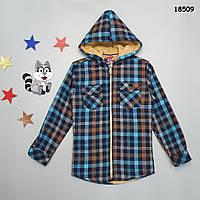 Тепла сорочка для хлопчика. 9 років