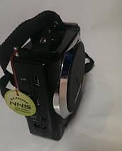 Портативная акустика Радио USB NS-063U с Usb,Sd,аккумулятор и диктофон USB порт SD Card Slot AUX-IN разъем    , фото 3