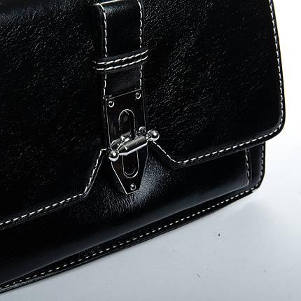 Сумка Женская Клатч иск-кожа FASHION 1-03 9983-1 black, фото 2