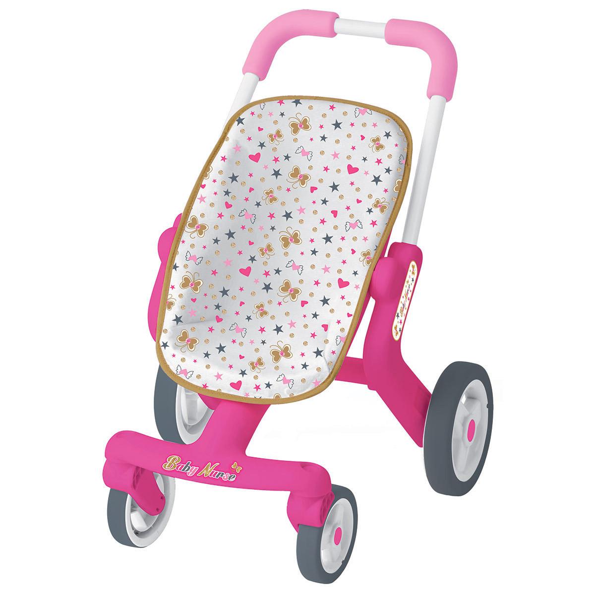 Лялькова коляска Smoby Baby Nurse з поворотними колесами