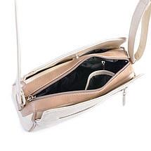 Сумка Женская Клатч иск-кожа М 128 25/29 white, фото 2