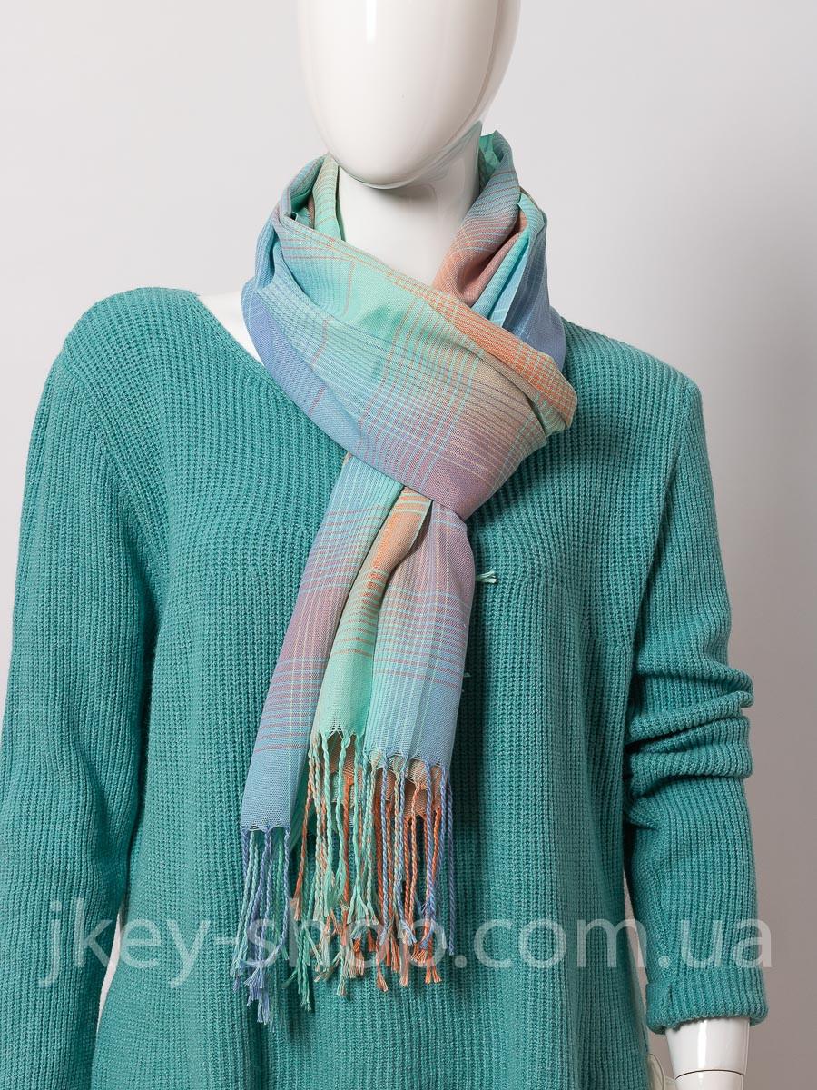 Шарф - платок женский SHARF MODA S205110 LIGHT BLUE