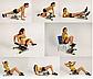 Силовой Тренажер Six Pack Care 6 в 1 для поддержки тонуса всего тела, фото 4