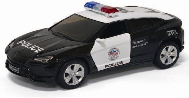 "Машинка Kinsmart ""Lamborghini Urus (Police)"" KT5368WP"