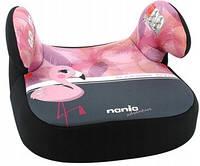 Детское автокресло бустер 15-36 кг Nania Dream Animals Flamingo