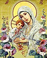 """Набор алмазной вышивки (мозаики) икона """"Богородица с Иисусом"""""""