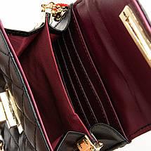 Сумка Женская Клатч кожа ALEX RAI 03-1 1038 black, фото 3