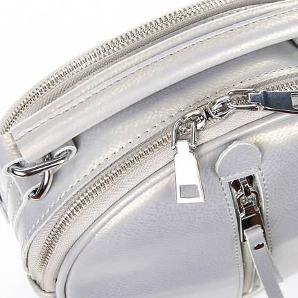 Сумка Женская Клатч кожа ALEX RAI 06-1 339 light-grey, фото 2