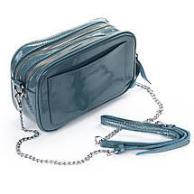 Сумка Женская Клатч кожа ALEX RAI 06-1 8736-3 l-blue, фото 2