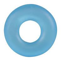 Эрекционное кольцо Stretchy Cockring Frosted Blau