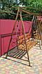 Кованая качель садовая большая разборная, фото 6