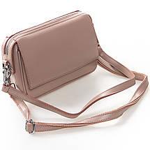 Сумка Женская Клатч кожа ALEX RAI 2-01 2227 pink, фото 2
