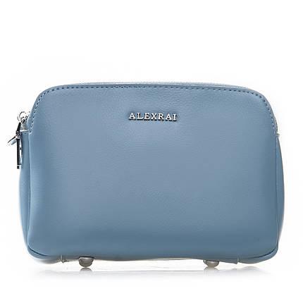 Сумка Женская Клатч кожа ALEX RAI 2-01 8701 light-blue, фото 2