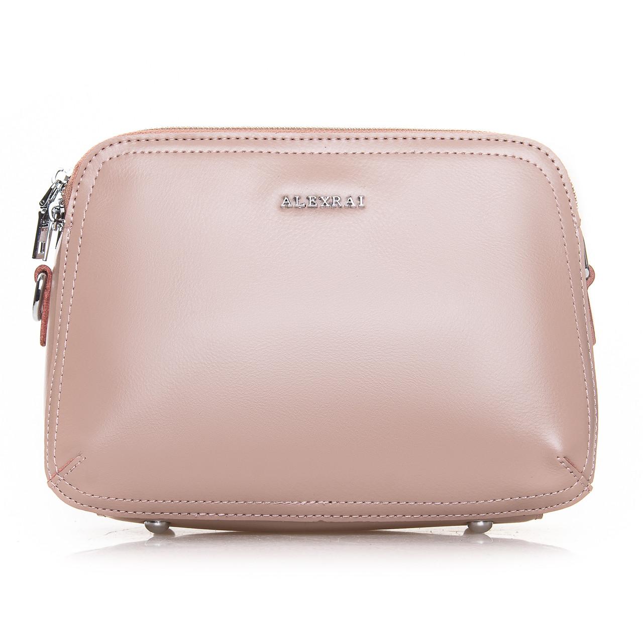Сумка Женская Клатч кожа ALEX RAI 2-01 8725 pink