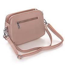 Сумка Женская Клатч кожа ALEX RAI 2-01 8725 pink, фото 2