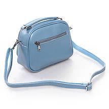 Сумка Женская Клатч кожа ALEX RAI 2-01 8802 light-blue, фото 2