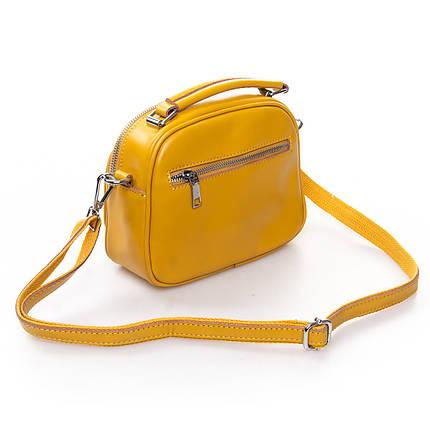 Сумка Женская Клатч кожа ALEX RAI 2-01 8802 yellow, фото 2