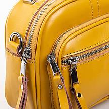 Сумка Женская Клатч кожа ALEX RAI 2-01 8802 yellow, фото 3