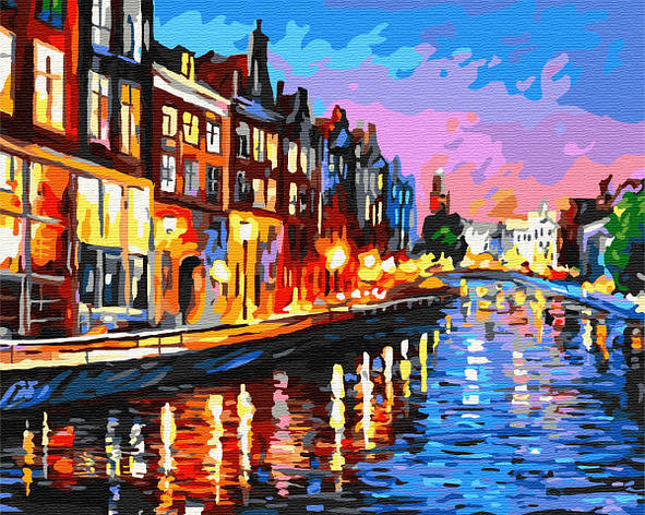 Картина по номерам 40*50см. Амстердам GX7329 Brushme, фото 2