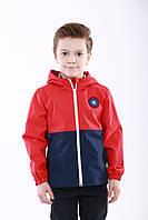 Ветровка детская на мальчика на трикотаже  104, 110, 116