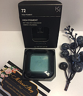 HIGH PIGMENT Kiko Milano Высокопигментированные тени 72 Pearly Turquoise