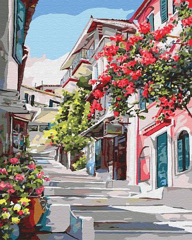 Картина по номерам 40*50см. Греция GX7519 Brushme, фото 2