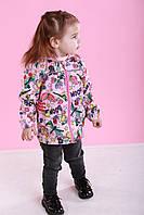 Дитяча вітровка для дівчинки 86, 92, 98, фото 1