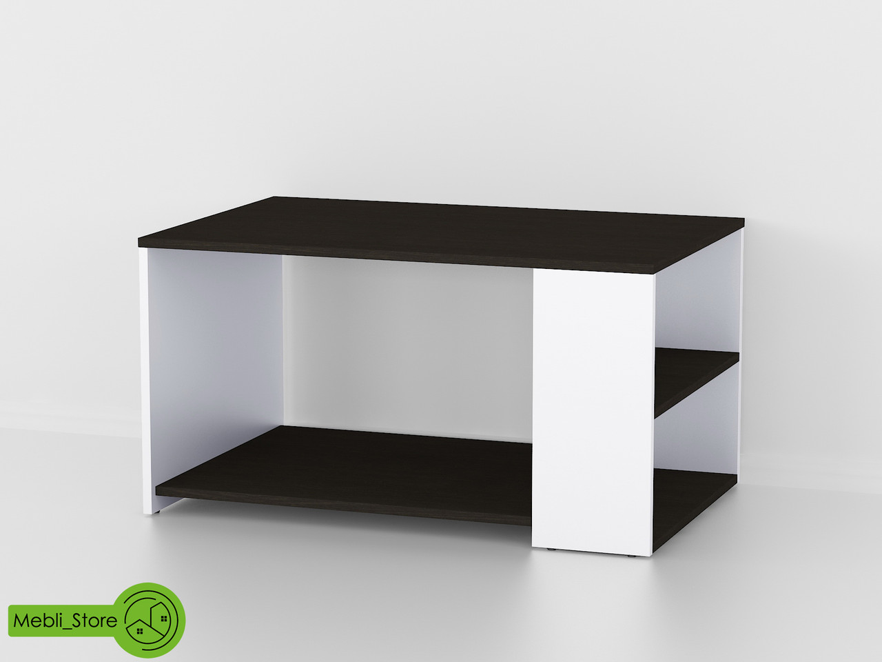 Офисный журнальный столик с полкой, кофейный столик из ДСП (7 ЦВЕТОВ) 900х481х590 мм Гарантия 1 ГОД!