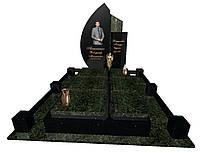 Пам'ятник надгробний гранітний одинарний Ексклюзивний S35