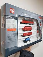 PIKO 59004 Детская Железная дорога Стартовый набор грузовой поезд, масштаба 1/87, H0, фото 1