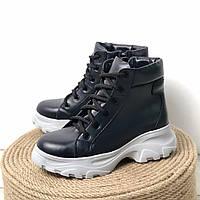 Женские ботинки из натуральной кожи Возможен отшив в других цветах кожи и замши
