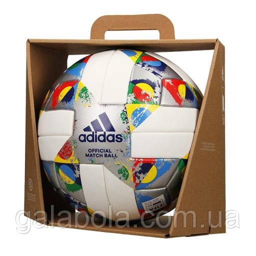 Мяч футбольный ADIDAS UEFA NATIONS LEAGUE OMB CW5295 (размер 5)